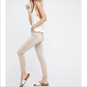 Free People Reagan Fly Skinny Jeans